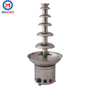 2017 Wholesale Price Stainless Steel 4 Layers Chocolate Fountain