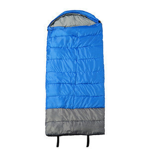 210T Polyester Taffeta Waterproof Flame Retardant Promotion Portable Camping Hiking Sleeping Bag