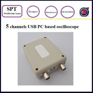 5 channels USB PC based oscilloscope low price