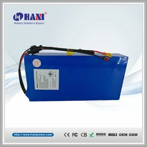 60V 13Ah Lithium- ion Battery Pack 16s5p Electric Motorcycle Battery with BMS for Harley Motorcycle