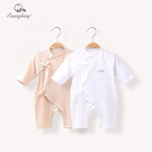 Aengbay Cheap Wholesale Infant Clothing Baby Cute Winter Cotton Baby Rompers