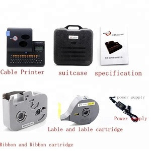 Allraise PVC Tube Heat Shrinkable Tube Cable Id Cable Wire Printer For Wire Industry