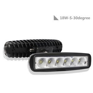Amazon hot sales 18w led work light  Flood light  for SUV ATV  truck ship bus engineering vehicle