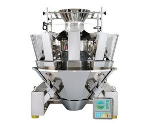 Automatic chips/slice weighing filling packaging machine line