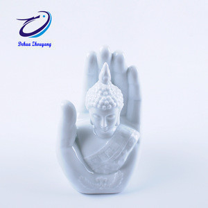 Buddha shaped ceramic aroma diffuser fragrance incense burner ceramic oil burner