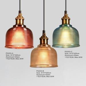 Ceiling Light for Restaurant Decoration, Modern Glass Pendant Lighting Fixture Supplier