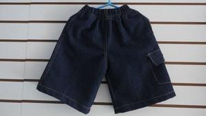 Cotton childrens bermuda shorts