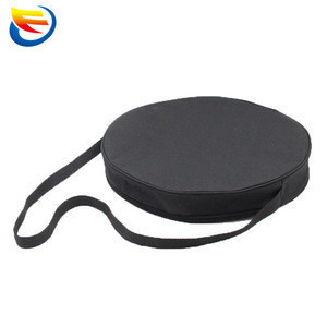 Custom black outdoor sling round tool bag for picnic