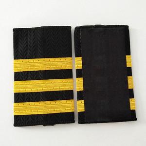 Custom Military Epaulets Pilot Epaulettes  Shoulder Boards Formal Army Epaulette Security Police Uniform Accessories