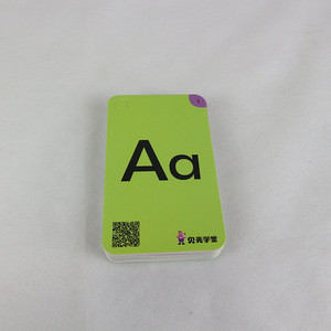 Custom printed full color game paper playing card game printing flash cards