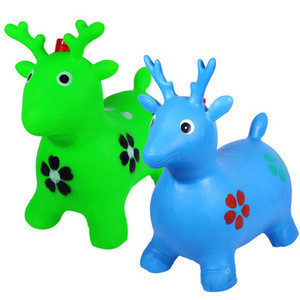 Customizable Iflatable PVC Jumping Horse Playing Toys for kids