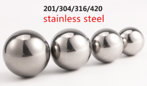 Factory direct shower curtain hook bead stainless steel ball