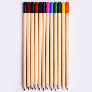 Factory price presharpened hex paper tube 12 color pencil