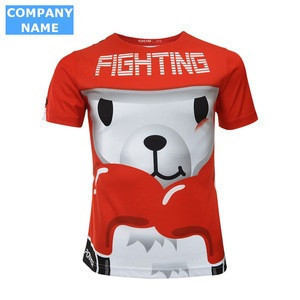 Fashion soft custom cartoon pattern kids t shirt