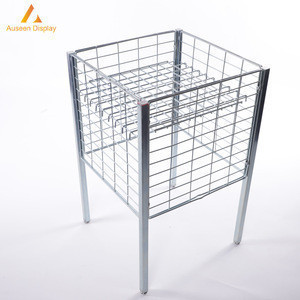 Foldable metal wire Storage Cage for stores and home