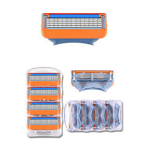 For Amazon 5 Layer Razor Blade Cartridge Refill Compatible with Gillette for Shaving Accessory