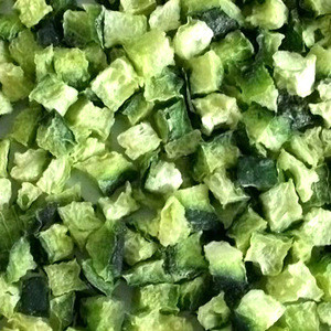 Freeze Dried Cucumbe Wholesale Lyophilization Vegetables Organic Slice or Cube