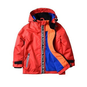 Good price long sleeve boy coats for sports spring windproof children bomber jacket