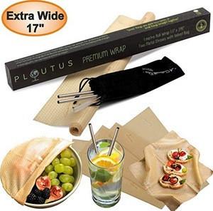 GOTS Water Proof organic cotton eco friendly bee wax food wrap