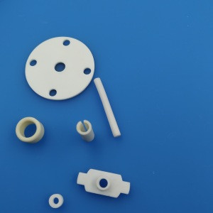 High Performance Alumina Insulator Technical Ceramic Textile Yarn Guide Machinery Parts Eyelet