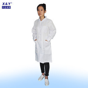 High quality hospital doctor uniform polyester cotton fabric uniform for doctor