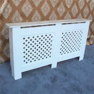 Home Furniture White MDF Medium Air Condition Heater Radiator Cover