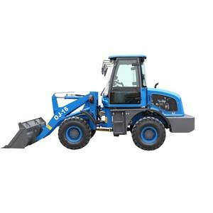 Hot sale earth moving machinery zl16 mini Radlader with EPA 4 engine