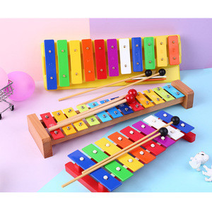 Hot sale Orff percussion musical education toys instrument toy mini knock piano xylophone