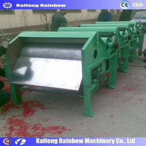 Hot sale textile tearing machine for textile recycling