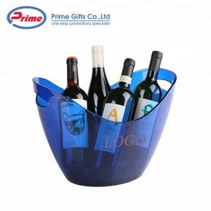 Hot Selling Boat Shape Cheap Plastic ice bucket with Custom Logo