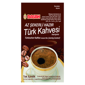 Instant Turkish Coffee (with a little sugar)
