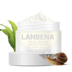 LANBENA Natural skin care nutrition snail slime  face firming cream