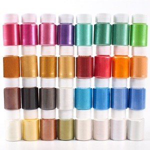 Mica Pigment Powder Jar Set for DIY Soap Making and Epoxy Resin