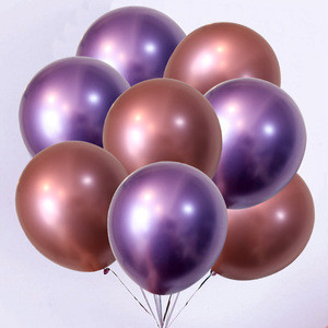 NASTASIA Metal latex balloon thicken 12 inch 3.5g birthday party decorations adult wedding favors and gifts party supplie