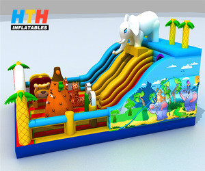 New design cheap kids jumping castle house Inflatable bouncer for sale