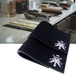 Professional Hairstylists Tools Barbershop Work Station Anti Slip Silicone Barber Mat