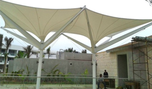 PTFE Coated Fiberglass Waterproofing Membrane PTFE Architecture Membrane