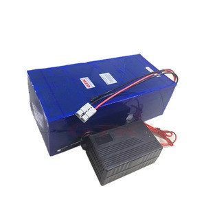 Rechargeable 72V 60Ah 80Ah Lithium li ion battery with BMS for 4000W 5000W motorcycle ebike scooter golf trolley+10A Charger