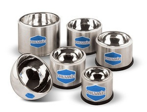 SCILOGEX DILVAC Stainless Steel Cased Low Profile Dewar Flasks - Made in UK