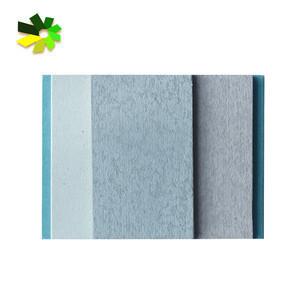 Sound insulation cement board polyurethane sandwich panel