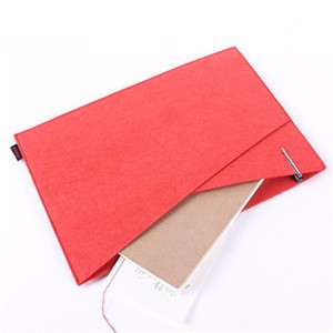 Stylish fashion a4 size felt document file folder for envelopes