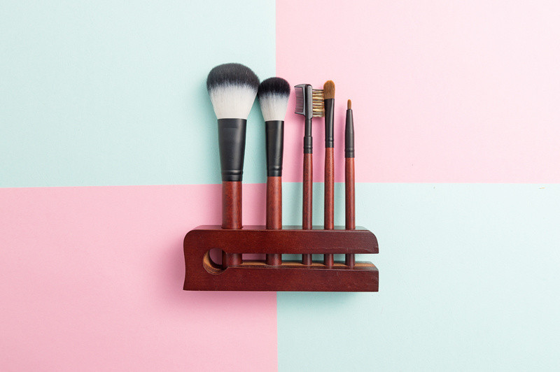 Synthetic Hair Makeup Brush Set Foundation Blush Cosmetic Tools
