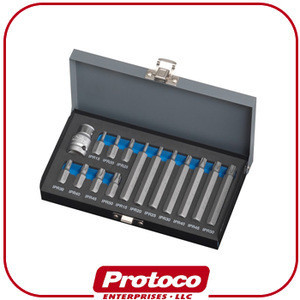 Taiwan 15 Pieces Professional Hex Power Driver BIT Set for AUTOMOTIVE TOOL