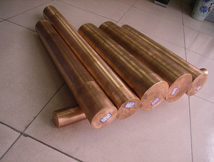 Titanium clad copper rod