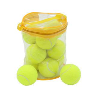 Top quality Professinal 2.5'' customized brand professional bouncy tennis ball bulk
