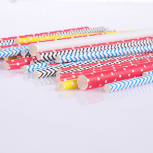 Wholesale biodegradable manufacturer paper drinking straws Decorations for Wedding Supplies and Party Favors