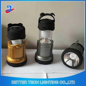 Wholesale LED Stretch flashlight light rechargeable camping lantern light emergency lamp