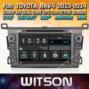 WITSON WINDOWS TOUCH SCREEN CAR DVD FOR TOYOTA RAV4 2013 2014