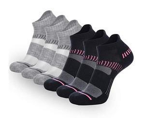 Womens Athletic Ankle Socks Women  Performance Cushioned Low Cut Running Tab Socks