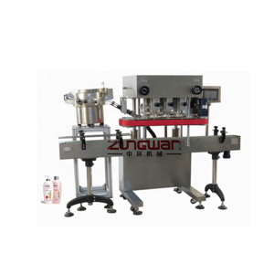 ZHG200 drop automatic beeline type continuous capping machine
